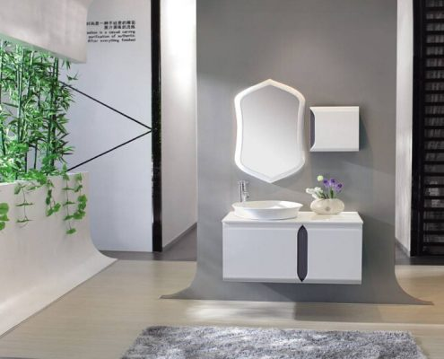 3 design principles of small apartment bathroom decoration