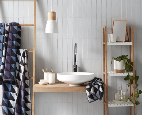 5 skills make the bathroom space easy