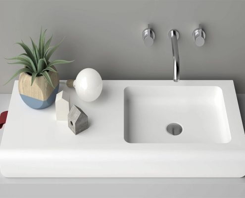 install the washbasin notes so that the use of more convenient
