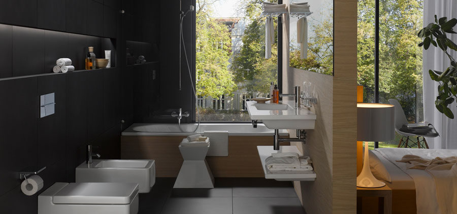 bathroom renovation which toilet flushing is more convenient