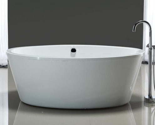 cleaning method for various material bathtub
