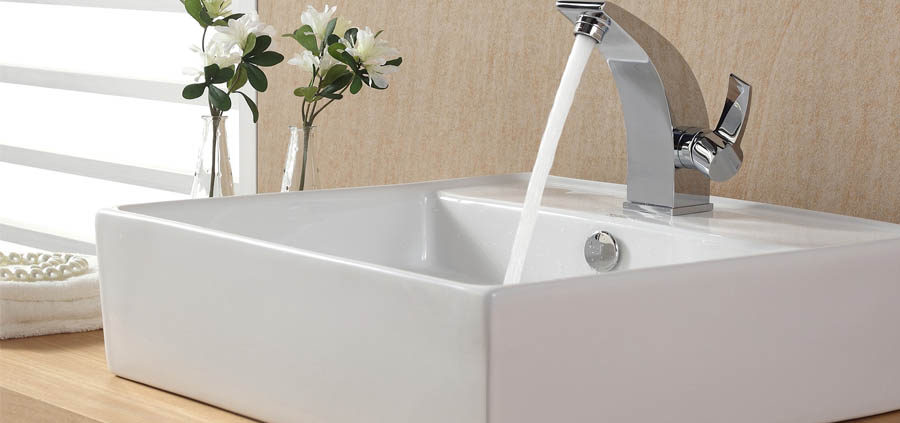how to clean the bathroom sink