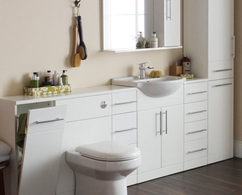 teach you how to create exquisite storage type bathroom
