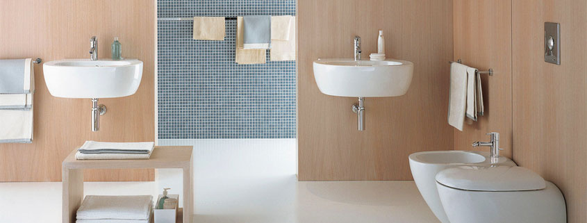how to clean the yellow dirt on the ceramic basin