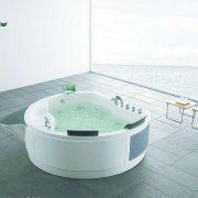 optional skills for a round bathtub