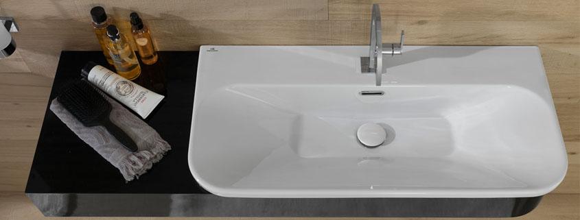 bathroom basin how to install