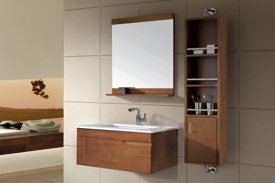 What Are The Advantages Of Wall Mounted, Wall Hanging Bathroom Cabinets