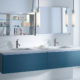 which is better for bathroom cabinet floor type or hanging type