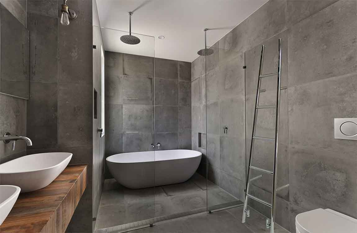 How To Create An Inexpensive Shower Enclosure For An Old